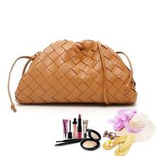 Luxury Brand Designer Women Clutch Bag Genuine Leather Clasp