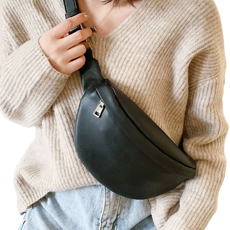 Casual Waist Bag Casual Women Chest Bag Fashion Shoulder Bags Female Pu Leather Belt Bags Female Bolso Fanny Pack