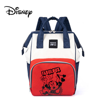 Disney Mickey USB Mommy Maternity Diaper Bags Large Capacity Baby Organizer Travel Baby Care Bag Fashion Mom Diaper Bag Backpack - BB0165