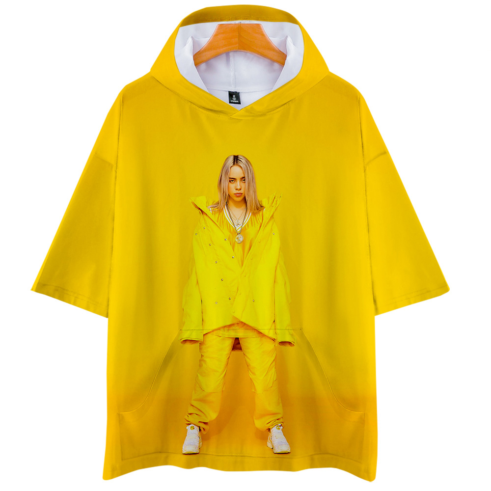 Hot Sale Billie Eilish Printed T-Shirt Women/Men Fashion Long Sleeve Short Sleeve T-Shirt Casual Trendy Streetwear 3D T Shirt