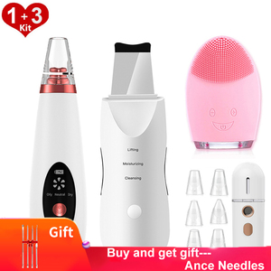 Blackhead Remover Vacuum Electric Pore Vacuum Cleaner Ance Remover Pimple Black Head Suction Skin Scrubber Deep Facial Cleansing