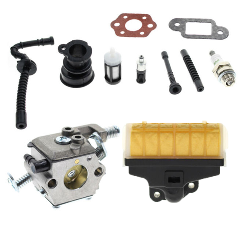 New Carburetor Air Filter Kit For Stihl MS210 MS230 MS250 021 023 025 Chainsaws