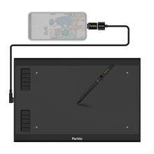 Parblo a610plus v2 планшет для рисования 8192 уровней давления