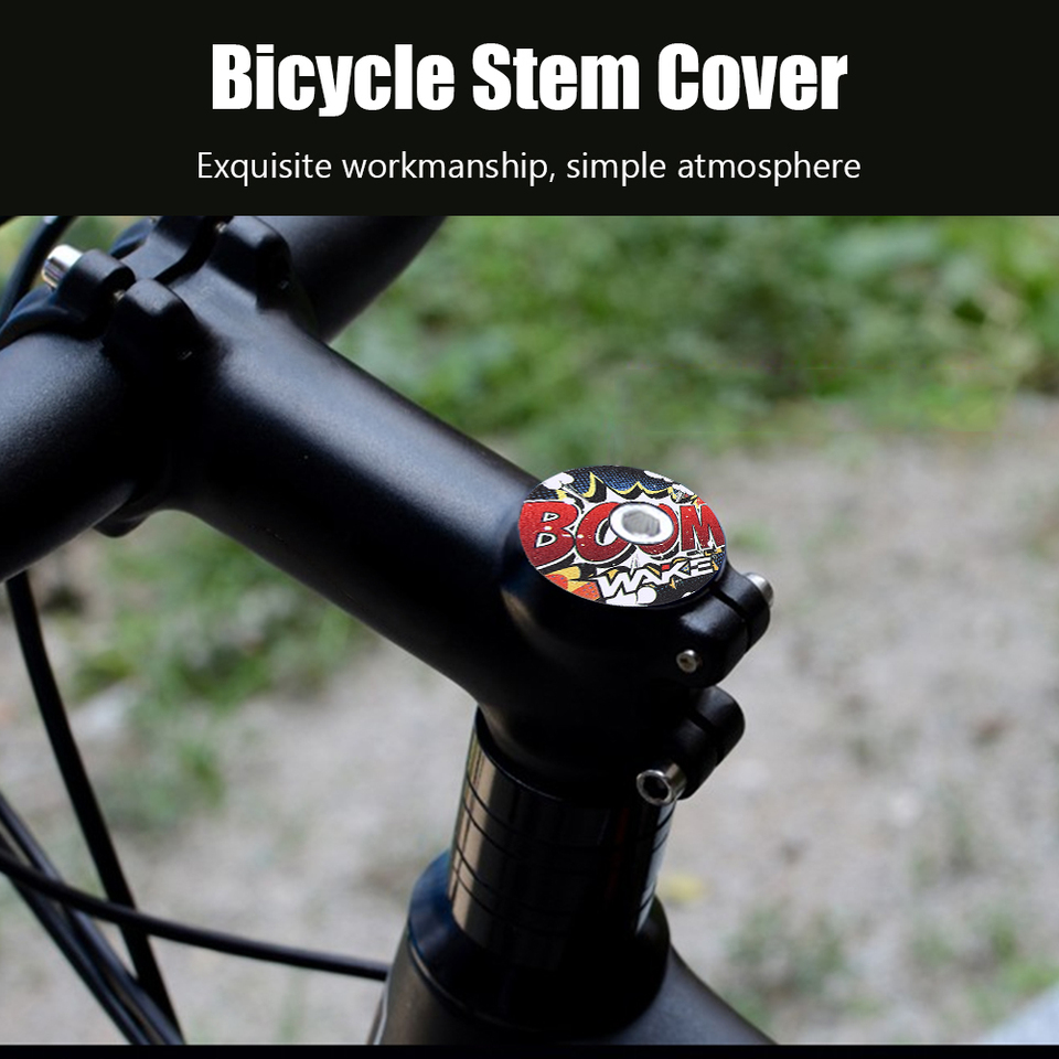 WAKE Bicycle Headset Fork Top Cap CNC Bike Stem Top Cover Cycling Equipment #Z