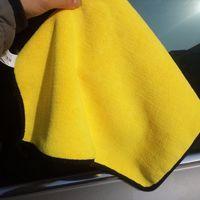 자동차 다음 좋은 자동차 청소 수건 브러시 자동차 도구 두꺼운 흡수 닦아 자동차 연마 왁스 차량 청소 유용한 제품|자동차 타올|자동차 및 오토바이 -