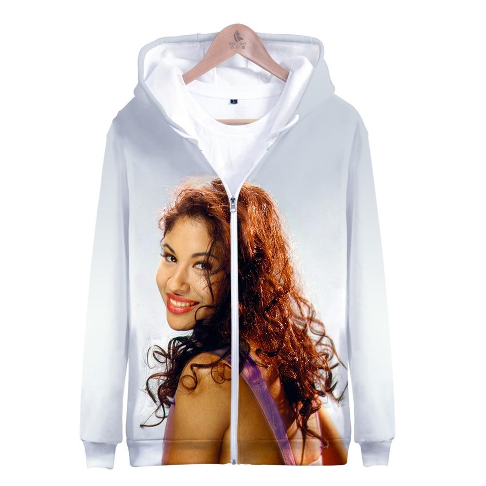 Amanecer Selena Quintanilla Unisex 3D Printed Hooded Pullover Sweatshirt Hoodie for Men Women