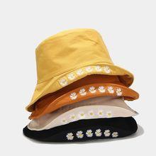Корейская Новинка Двусторонняя Женская кепка в рыбацком стиле