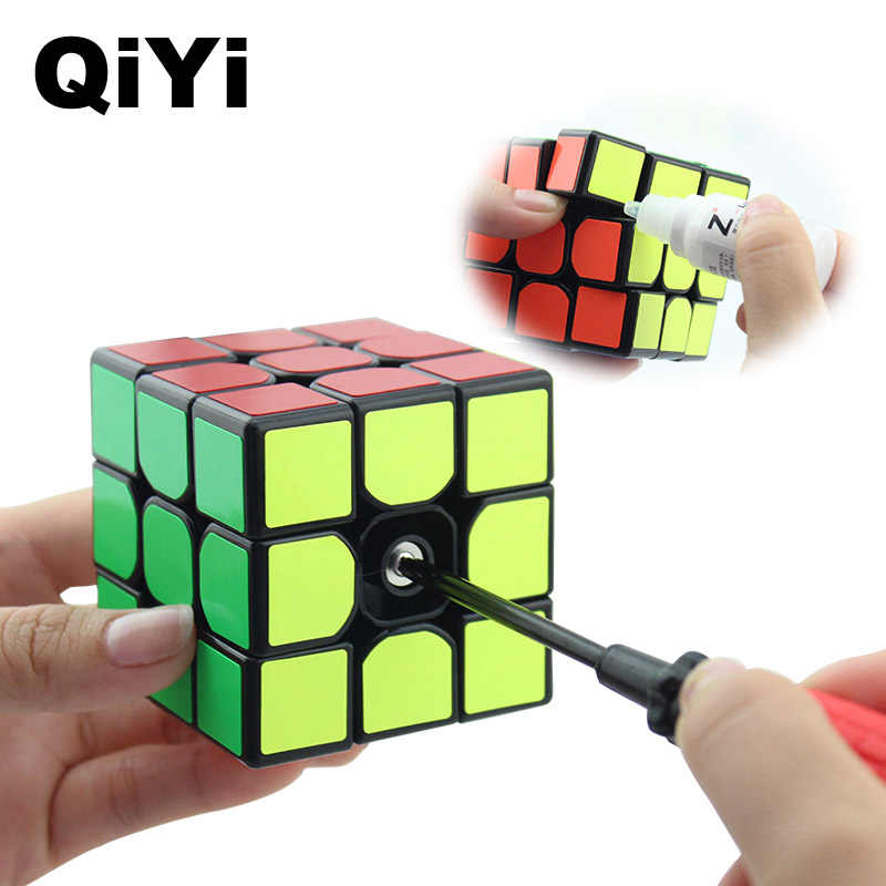 QiYi Professionelle 3x3x3 Zauberwürfel Geschwindigkeit Würfel Puzzle Neo Cube 3X3 Magico Cubo Erwachsenen Bildung Spielzeug für Kinder Geschenk MF3SET