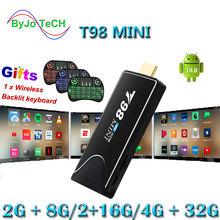 T98 мини 6k ТВ палка для android 100 Мини ПК ключ miracast wi