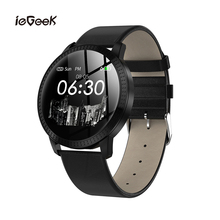 CF18 Bluetooth Smart Watches Men Waterproof Fitness Tracking Bracelet Blood Pressure Heart Rate Monitor Sports Smartwatch
