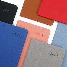 Agenda do caderno 2021 cuaderno diário agenda planejador zeszyt mensalmente libretas 2021 planejador cahier a6 agenda planejador semanal caderno