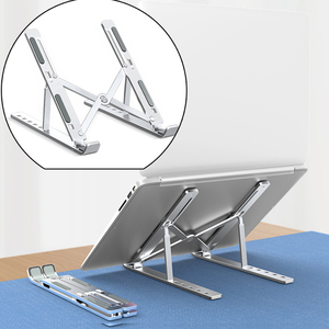 Image 1 - Laptop Stand Foldable Suporte Notebook Holder for Huawei matebook for Xiaomi airbook For Macbook Pro Air 13 15 16 17 14inch
