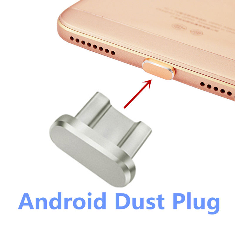 Android Phone Micro USB Anti Dust Plug Charger Charging Port Interface Stopple For Xiaomi Huawei Android Mobile Phone