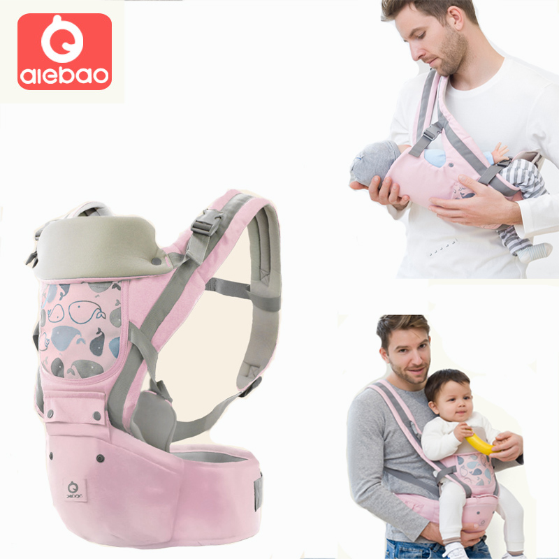 Baby Carrier Ergonomic Sling Front Hug Waist Stool Holding Belt Porte Bebe Kangaroo Hip Seat Versatile for The Four Seasons