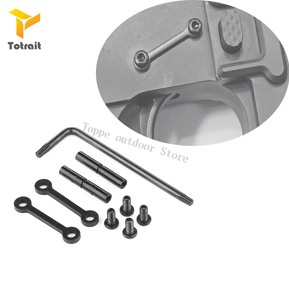TOtrait Airsoft M4 M16 gun AR 15 Accessories Steel Anti Walk Rotation Pins .223/.308 Trigger Hammer Pins For Hunting image