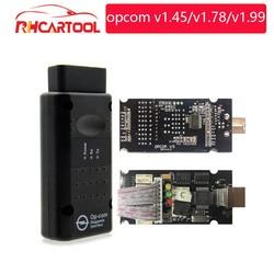 op com V1.70 V1.99 with PIC18F458 FTDI op-com OBD2 Auto Diagnostic tool for Opel OPCOM CAN BUS V1.7 v1.78 can be flash update