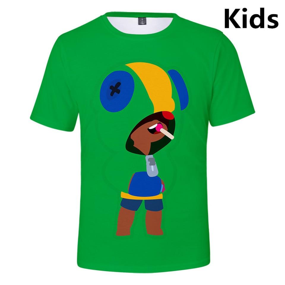 3 To 13 Years Kids T Shirt Shooting Game 3D Print T-shirt boys girls Short Sleeve Tshirt Streetwear Lovely T Shirts Teen Clothes