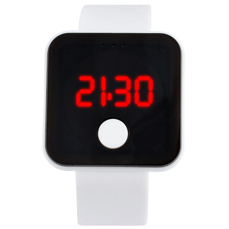 Children Watch Electronic Glass Sports Casual Fashion LED Resin Plastic Digital Case