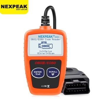 NEXPEAK NX201 OBD2 Scanner Car Diagnostic Tool Multi-languages Auto Diagnostic Scan Tool Code Reader Auto Scanner PK ELM327 car engine scanner om123 can obd2 obdii eobd engine code reader auto car vehicle diagnostic scan tool multi languages