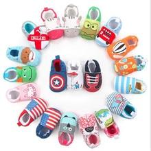 Hot Sale Cute Baby Shoes Girls Boy First Walkers Newborn Sli