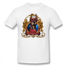 Bolt Doberman Big Face Dog t shirt men Casual Fashion Mens Basic Short Sleeve T-Shirt boy girl hip hop t-shirt top tees