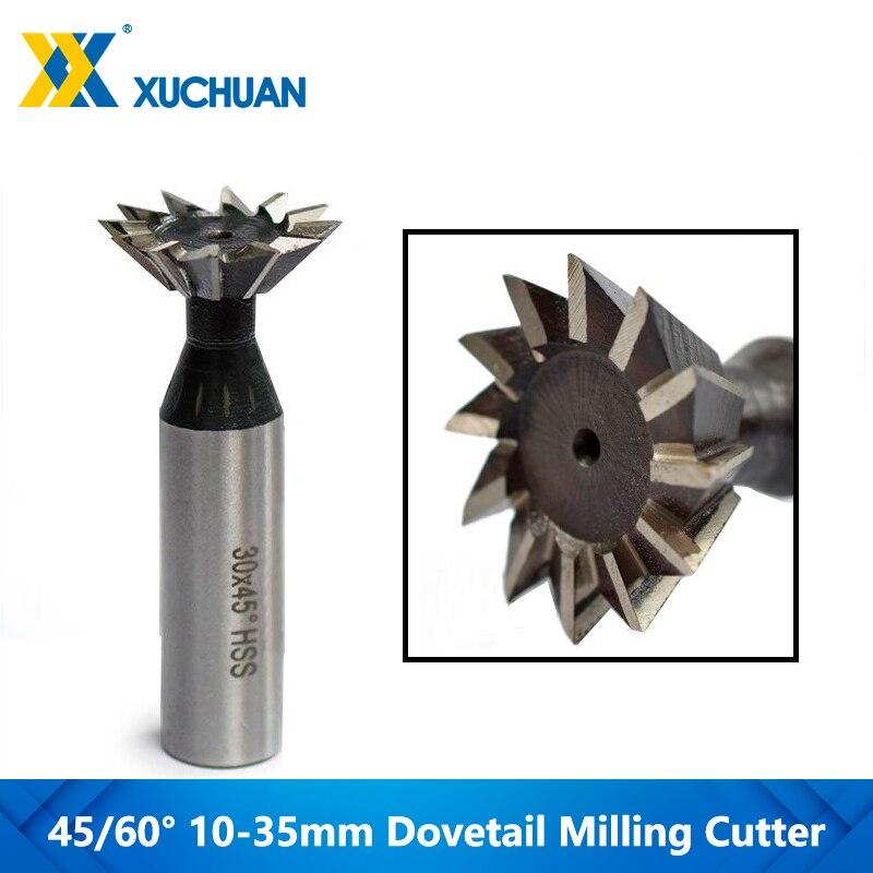 Hot DealsDovetail Router-Bit Milling Cutter Cnc-End-Mill Shank Straight 45/60-Degrees 1pc HSS