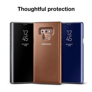 Image 4 - מקורי Samsung מראה תצוגה ברורה חכם כיסוי עבור Samsung Galaxy הערה 9 Note9 SM N9600 SM N960U SM N960F לעורר Slim Flip מקרה