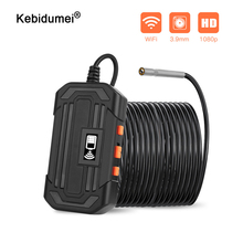 1080P Endoscope Camera Industrial Handheld Borescope 3.9mm WiFi Lens Wireless Inspection Camera Waterproof for Android IOS