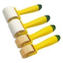 4 шт деревянный ролик для обоев пластиковый и пластиковая эргономичная