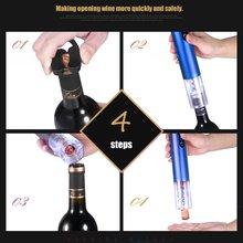 Electric Wine Opener Automatic LED Light Wine Opener Electric Portable Corkscrew Wine Bottle Quick Safe Kitchen Opening Tools цена в Москве и Питере