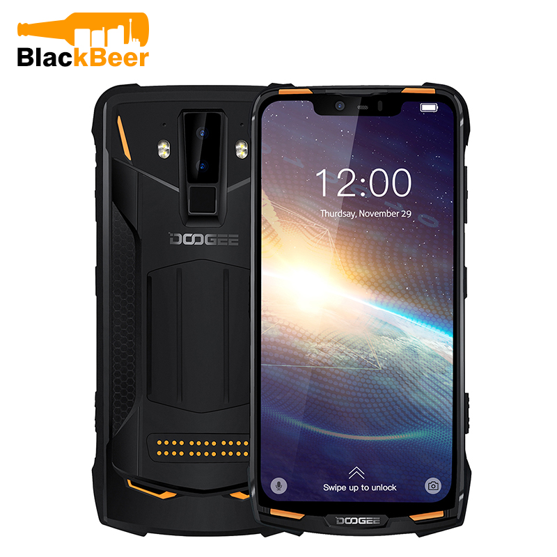 DOOGEE S90 Pro 6.18 Inch MT6771T P70 Smartphone IP68 Rugged Cellphone 6G 128GB AL Camera Android 9.0 Mobile Phone 5050mAh 12V/2A