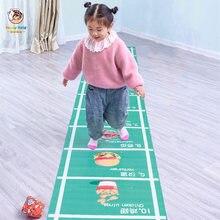 Детский Забавный коврик для прыжков интерактивные игровые коврики