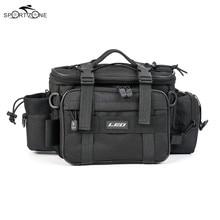 40*17*20cm Fishing Bag Men Women Multifunctional Waterproof Outdoor Waist Shoulder Bag Case Reel Lure Storage Bag Fishing Tackle