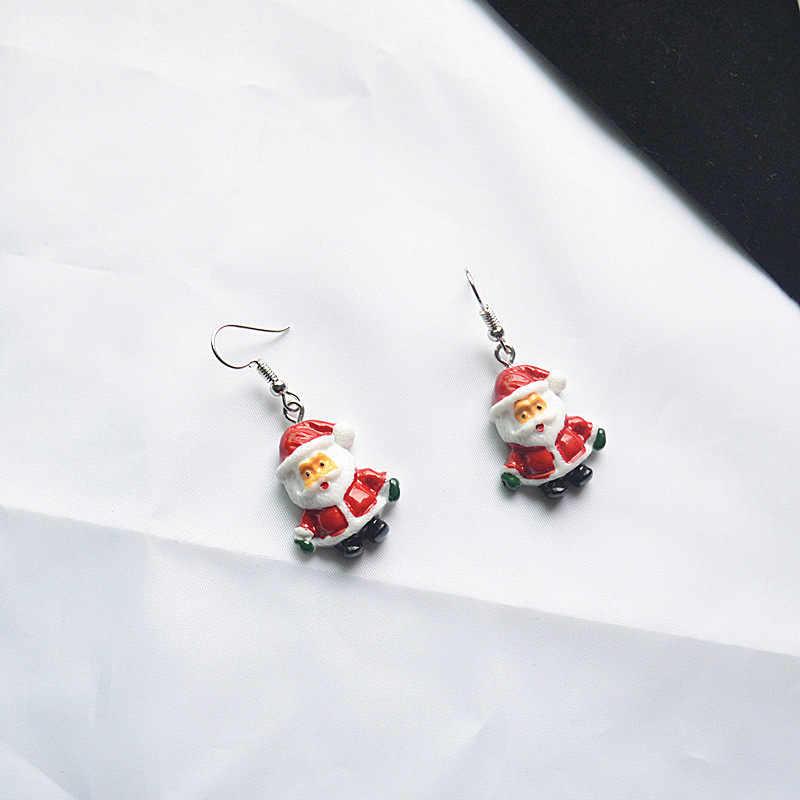 2020 papai noel pingente gota ornamentos decoração de natal para casa brinco ano novo natal presente ornamentos navidad