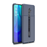 style protective For OPPO Reno 2 Case Business Style Silicone Rubber Shell TPU Back Phone Cover For OPPO Reno2 Protective Case For OPPO Reno 2 (3)