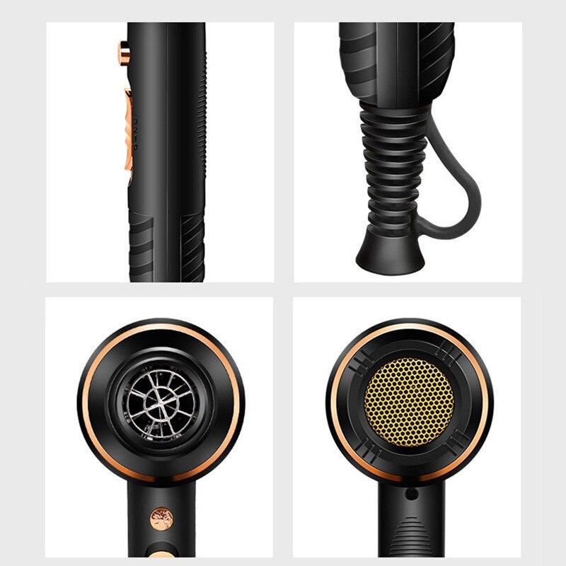 negativo ionic martelo ventilador secador de cabelo elétrico seco dropshipping
