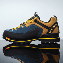 Sneakers Hiking-Boots Trekking Mountaineering O'clock-Quality Outdoor Footwear Male Autumn