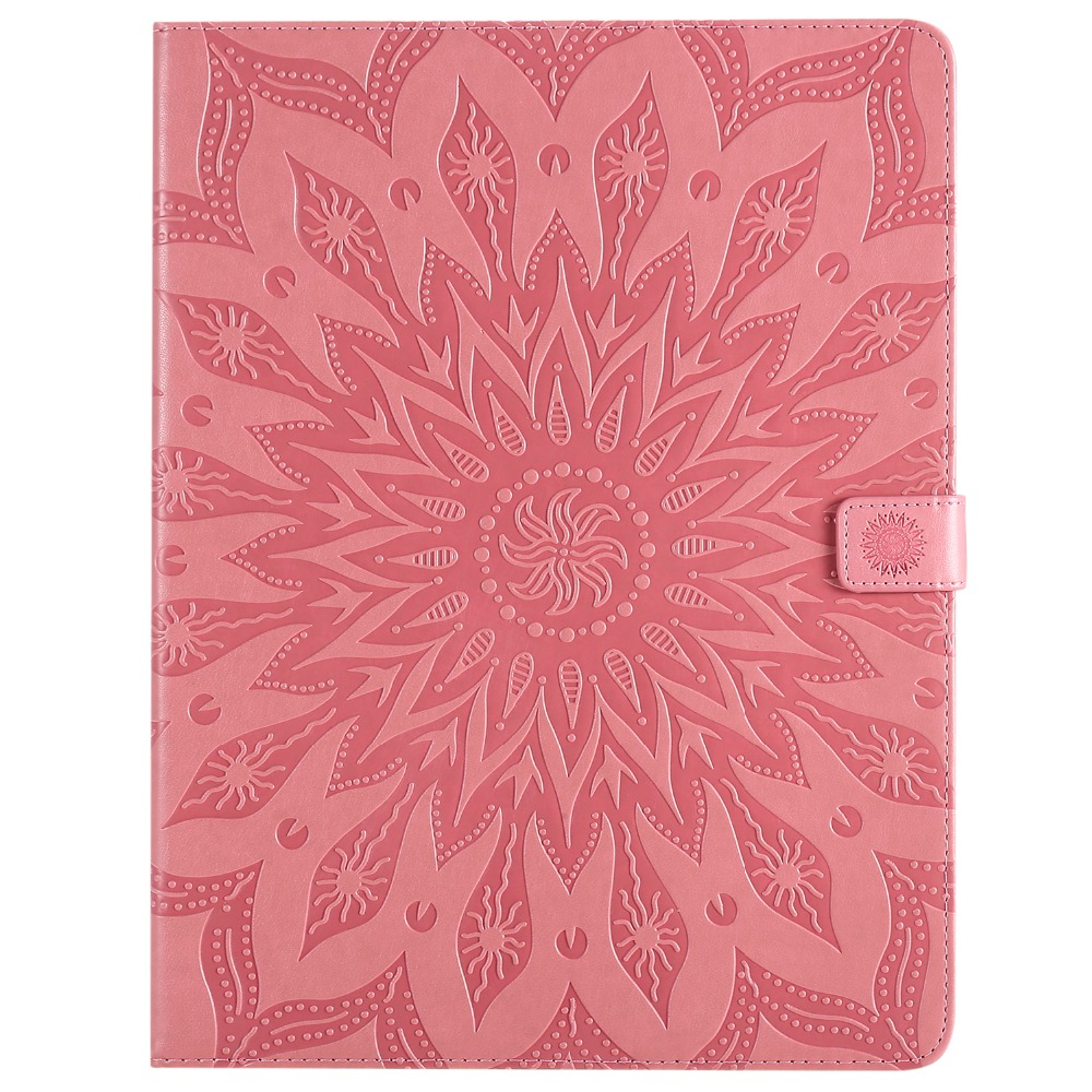 Cover for 9 Case 12 2020 Shell Flower Skin Leather Protective iPad 3D Pro Embossed