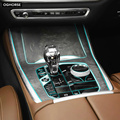 Самовосhealing вающаяся наклейка из ТПУ для салона автомобиля  центральная консоль  дисплей  панель передач  прозрачная защитная пленка для BMW ...