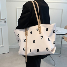 Women's Tote Bag Large Capacity Shopping Bag Commuter Purses Brand Design Shoulder Bags Women Simple Pu Leather Female Handbags