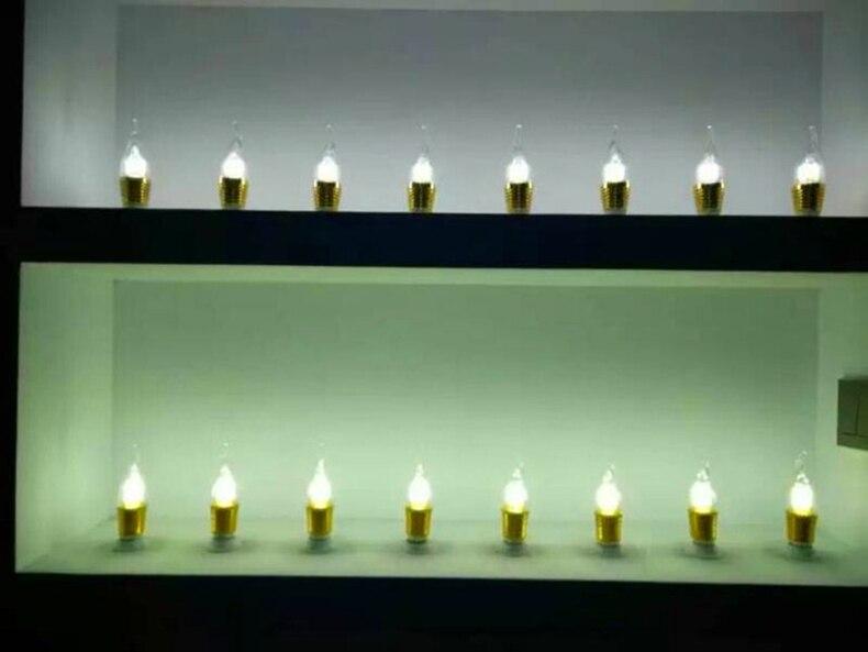 w 7 9 ouro prata alumínio vela