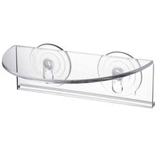 Półka ścienna przyssawka półka okienna roślina półka okienna półka wewnętrzna półka na roślina doniczkowa ogród tanie tanio CN (pochodzenie) Wall Shelf Other Acrylic transparent 20 * 7 * 14cm