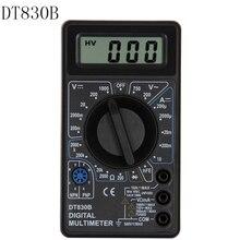DT830B Digital Multimeter AC/DC LCD Digital Multimeter 750/1000V Voltmeter Ammeter Ohm Tester High Safety Handheld Meter dy2201 ac dc 1000v automotive multimeter