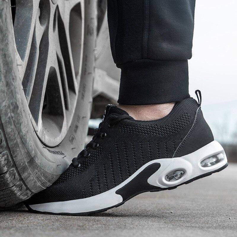 Ultralight Steel Toe Safety Shoes Men