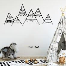 2019 новые Племенные Стикеры декор гор настенные наклейки для