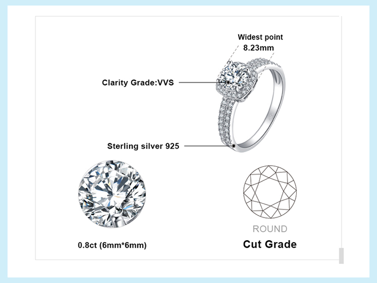 H5f31d425982740f196a7fd6cc9b25e49P JewelryPalace 1ct CZ Halo Engagement Ring 925 Sterling Silver Rings for Women Anniversary Ring Wedding Rings Silver 925 Jewelry