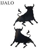 1 par bullfighting adesivo reflexivo touro espanhol vinil decalque para carro espelho retrovisor adesivos carro modificado acessórios