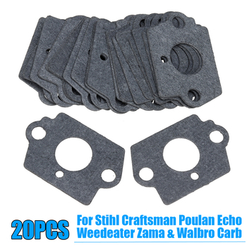 Carburetor Repair Kit For Stihl Craftsman Poulan Zama Walbro Gaskets Carburetor Engine Repair Gray Kit dle170 carburetor original for 170cc dle gas engine