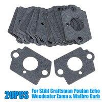 For Stihl Craftsman Poulan Zama Walbro Gaskets Carburetor Engine Repair Gray Kit|Carburetor Parts|   -