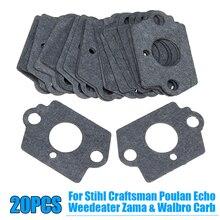 цена на For Stihl Craftsman Poulan Zama Walbro Gaskets Carburetor Engine Repair Gray Kit